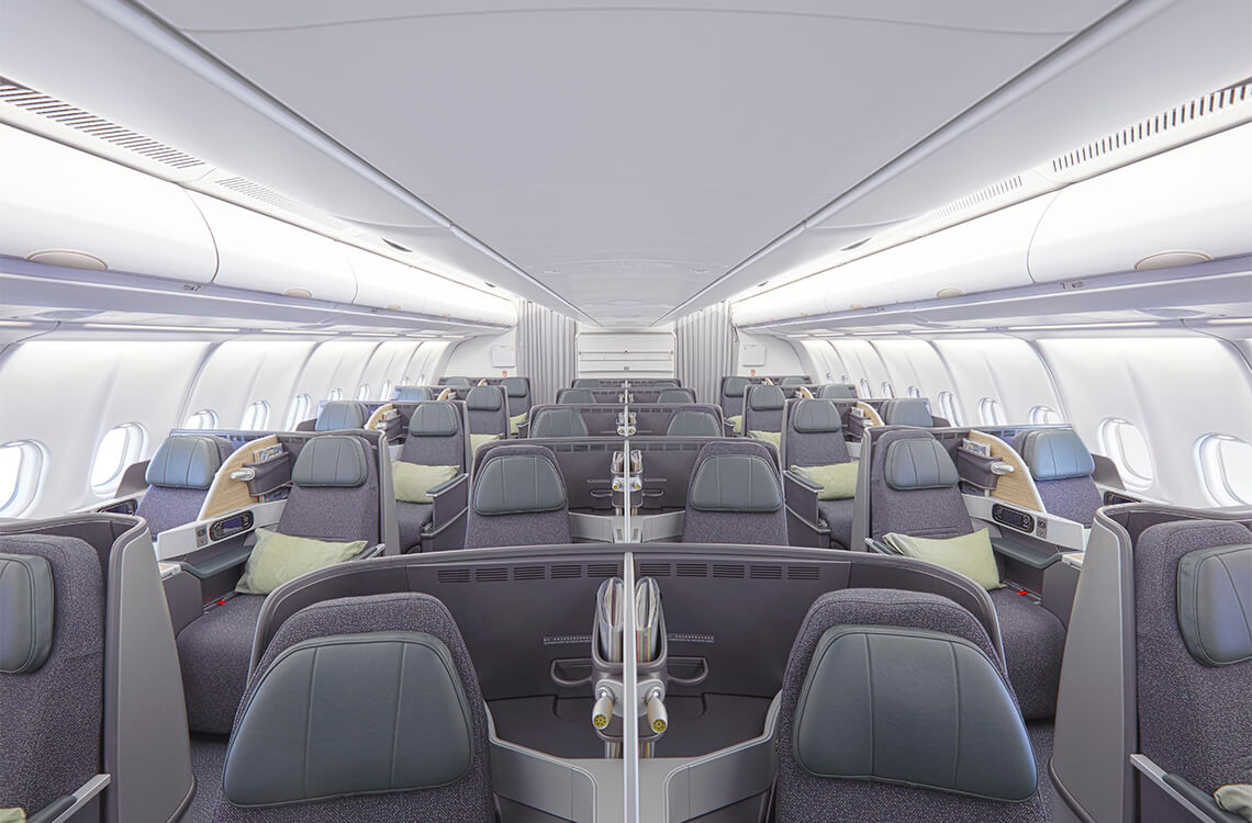 Eva Air, A330 Business Class